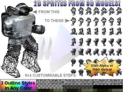Spriteforge 3D 2 2D Spriteset Renderer