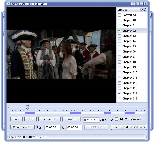 Download free Convert VOB to AVI 1.62