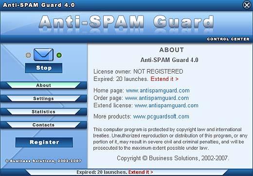 Anti-SPAM Guard