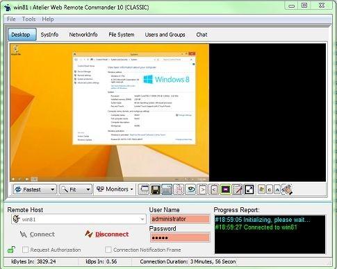 Atelier Web Remote Commander