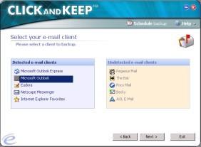 Click and Keep