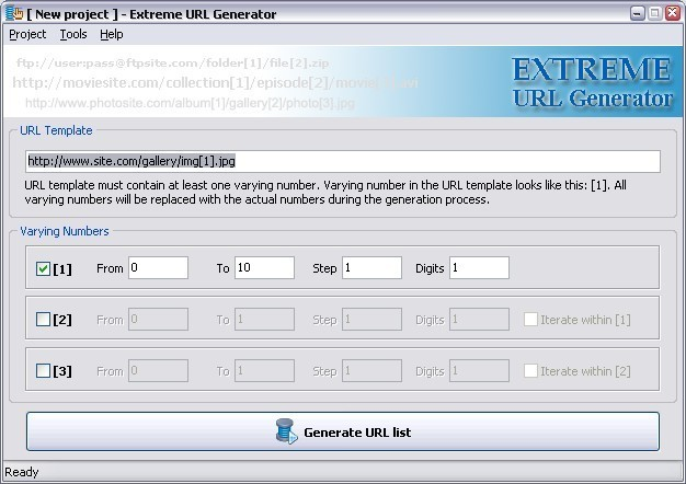 Extreme URL Generator