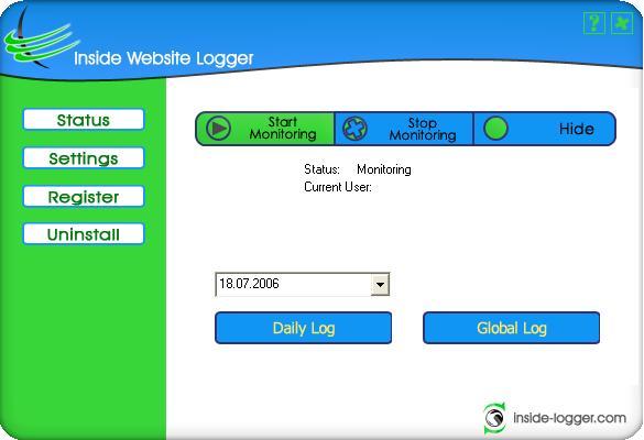Inside Website Logger