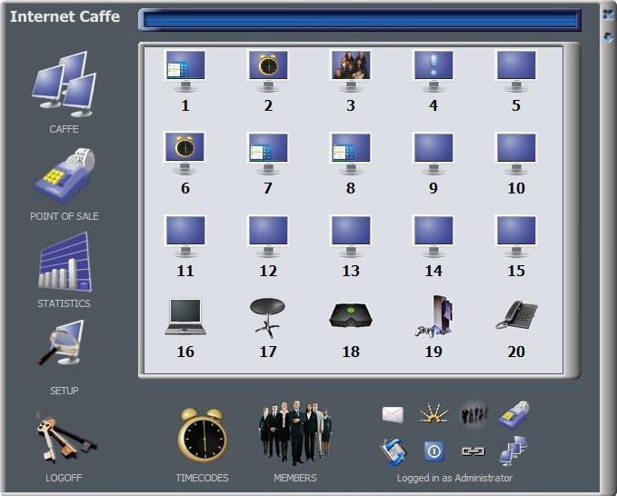 Cyber Internet Cafe Software - Internet Caffe
