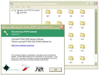 Narawen Inox POP3 Connector