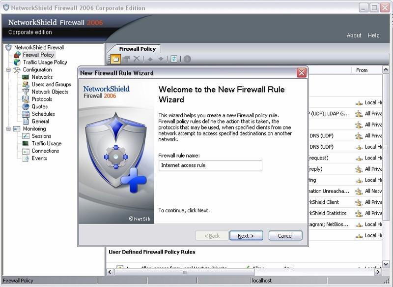 NetworkShield Firewall 2006