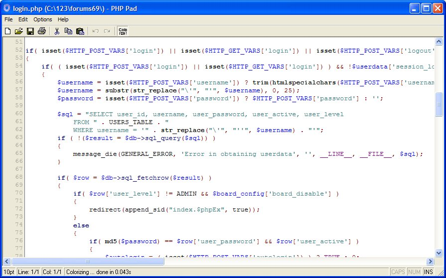 PHP Rite