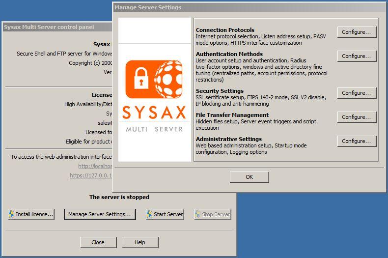 Sysax Multi Server