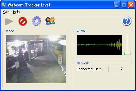 Webcam Tracker Live!