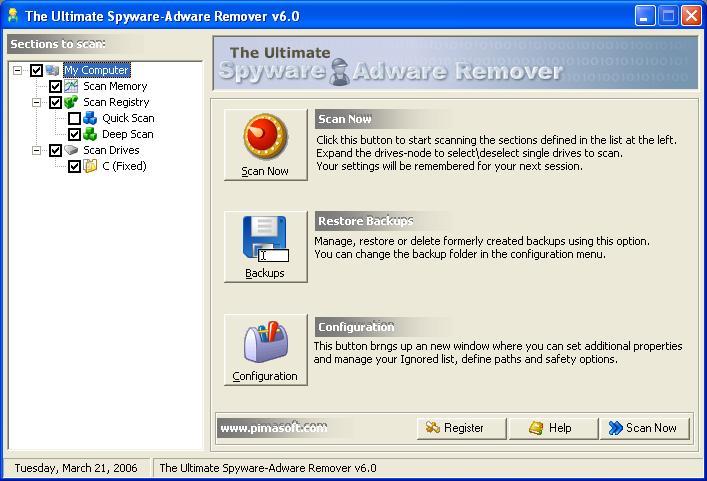 ! - $ Ultimate Spyware Adware Remover