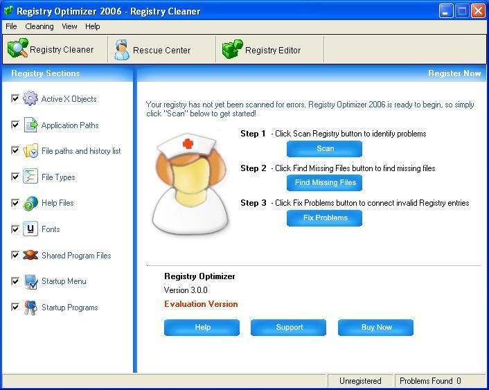 ! - A+ Registry Optimizer 2006