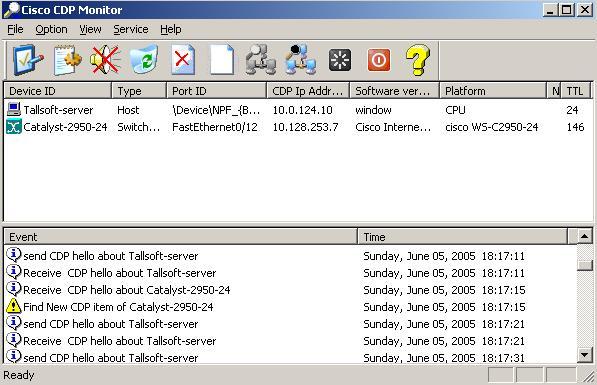 Cisco CDP Monitor