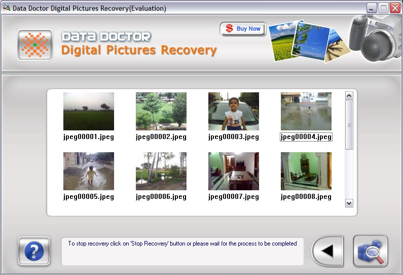 Deleted Image Recovery Tool