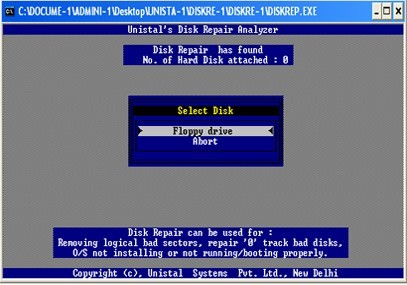 Disk Repair Data Recovery by Unistal