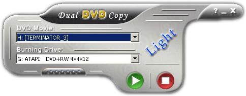 dual DVD copy Silver