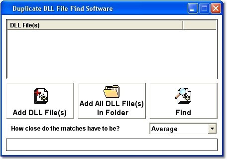 Duplicate DLL File Find Software
