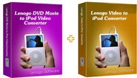 Lenogo DVD to iPod Converter + Video to iPod PowerPack Pro