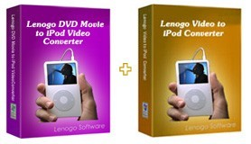 Lenogo DVD to iPod Converter + Video to iPod Powerpack