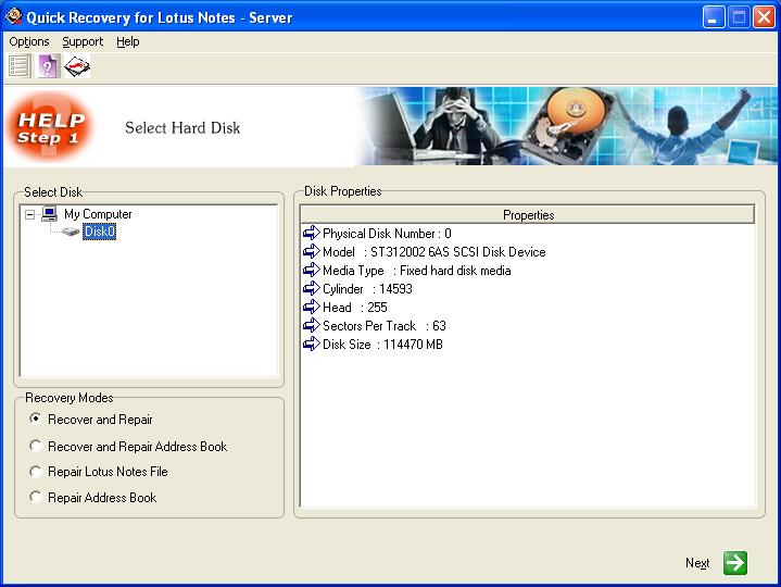 Lotus Notes Server Data Recovery by Unistal