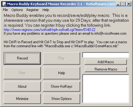 Macro Keyboard Mouse Recorder Wizard