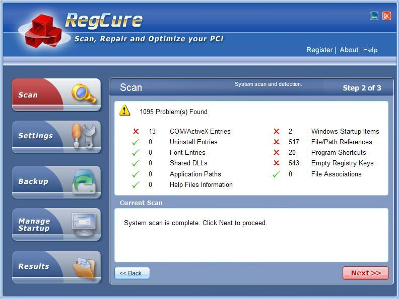 PC Registry Cure