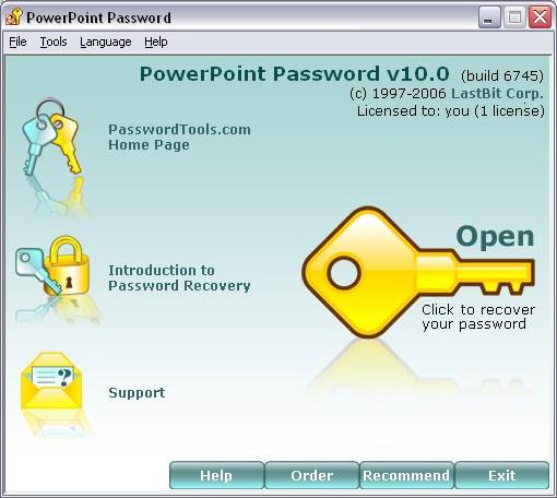 PowerPoint Password