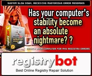 Registry Bot Repair