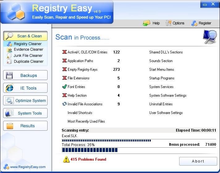 RegistryEasy