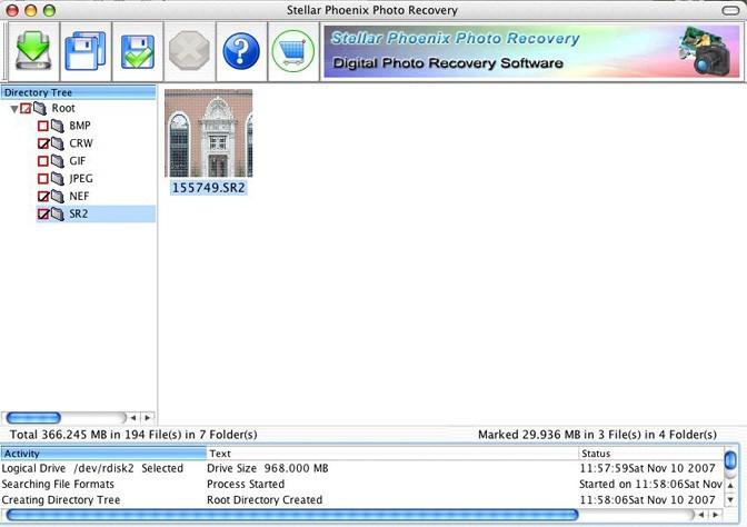 Stellar Phoenix Photo Recovery - MAC Photo Recovery Software