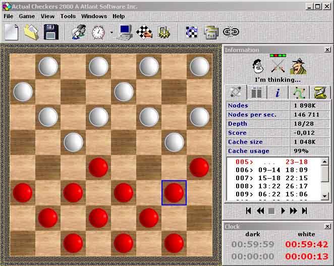 Actual Checkers 2000 A