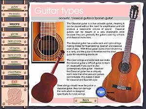 Left Handed guitar course (unit 1)