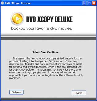 1st DVD XCopy Deluxe