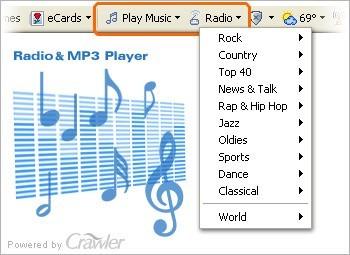 Crawler Radio&MP3 Player