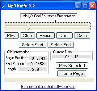 Mp3 Knife