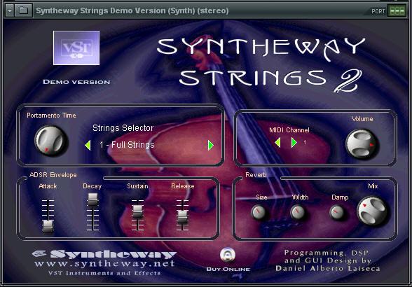 Syntheway Strings VSTi