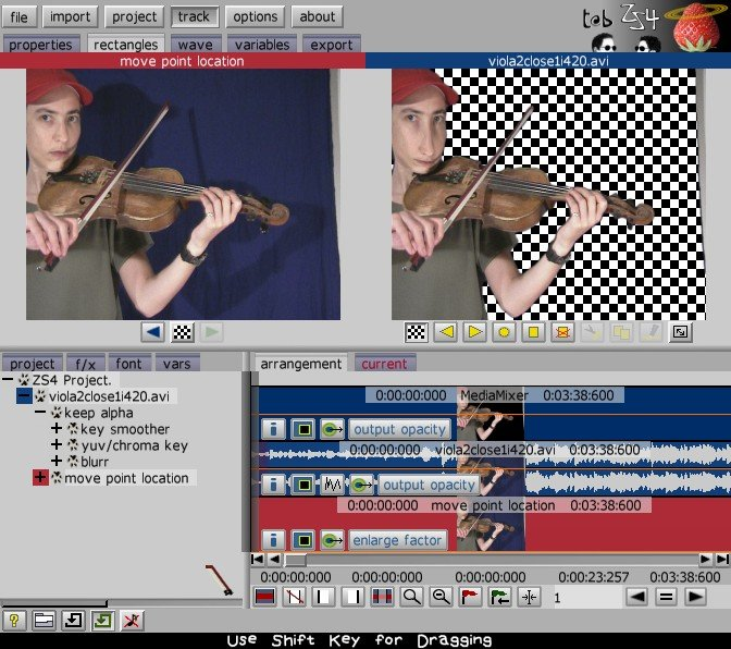 t@b ZS4 Video Editor for linux