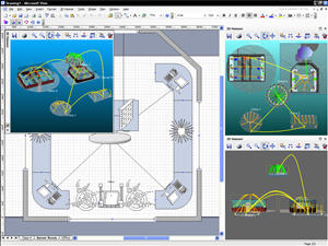 3D Visioner - 3D Visualization for Visio