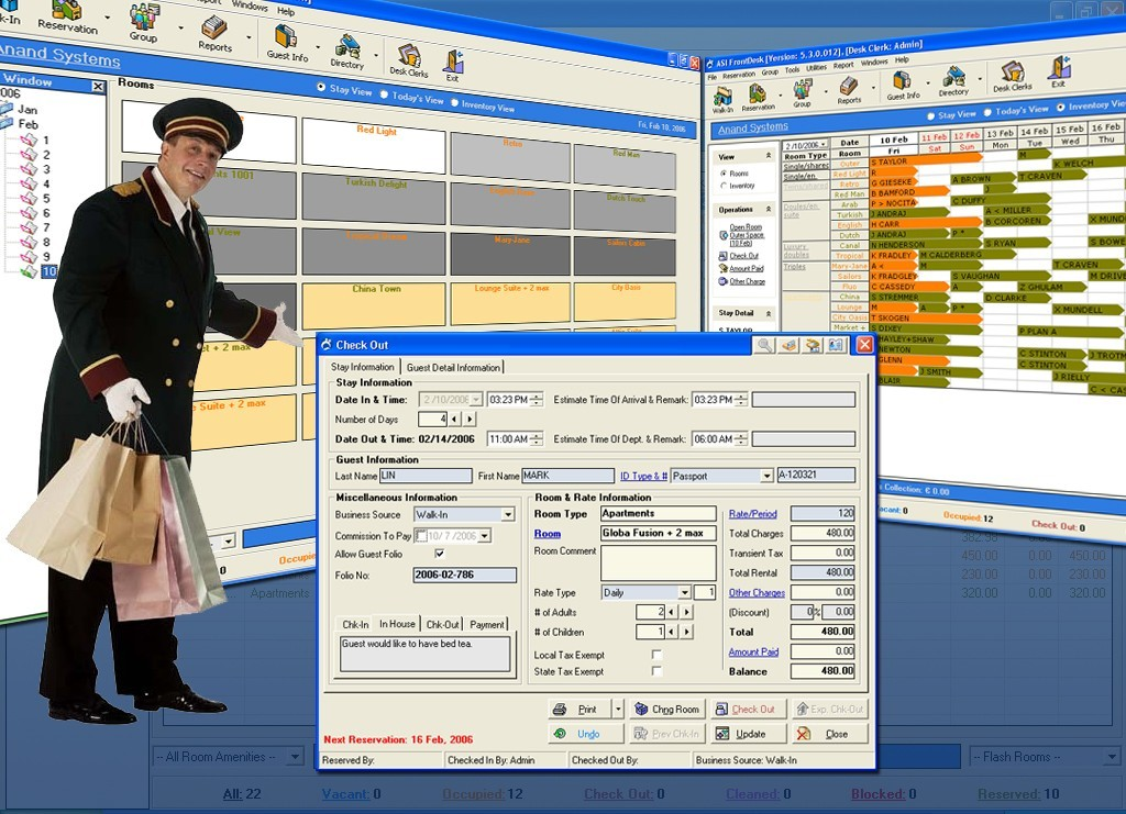ASI FrontDesk Freeware