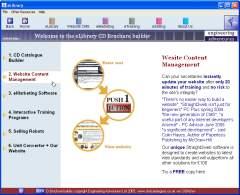 CD brochure builder