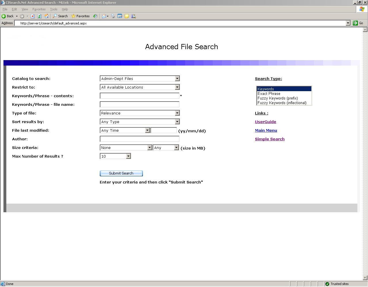 CISearch.NET