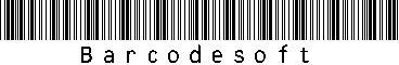Code39 Full ASCII Barcode Package