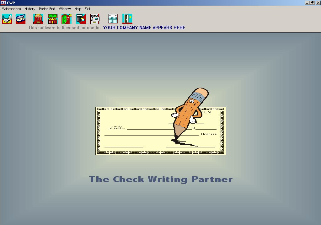 The Check Writing Partner