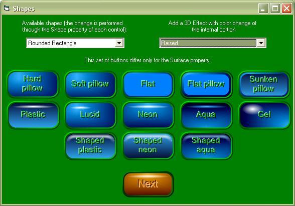 3D Button API