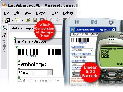 ASP.NET Mobile Barcode Professional