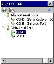 Virtual Serial Ports Driver CE