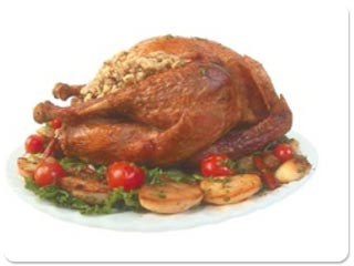 Animated Thanksgiving Dinner Wallpaper