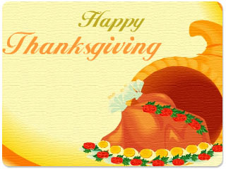 Animated Thanksgiving Wishes Wallpaper