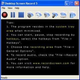 Desktop Screen Record