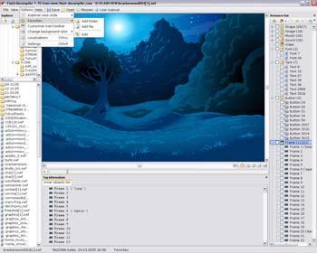 Flash Decompiler - Eltima SWF to FLA Converter