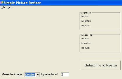 Free Picture Resizer